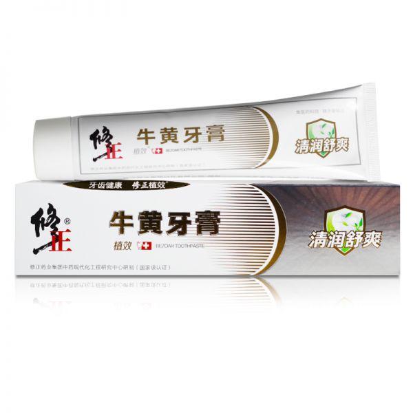 植效牛黄牙膏(清火舒爽中药香型) 150克