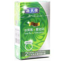 新天使,天然胶乳橡胶避孕套_2合1,,能够安全有效避孕