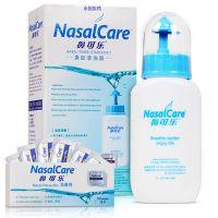 鼻可乐,鼻腔清洗器(成人),鼻可乐鼻腔清洗器(成人)240毫升+(加10袋洗鼻剂) ,用于鼻腔、鼻窦分泌物结痂清洗等