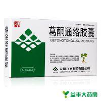 九方 ,葛酮通络胶囊, 0.25g*12粒/盒 ,用于缺血性中风中经络淤血痹阻脉络证