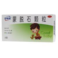 ,好娃娃 蒙脱石颗粒,3*10袋,用于成人及儿童急、慢性腹泻。