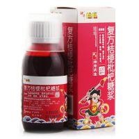 神奇,复方桔梗枇杷糖浆,100ml/瓶,用于小儿多痰,咳嗽,支气管炎