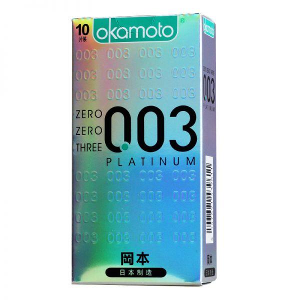 天然胶乳橡胶避孕套_OK003白金超薄