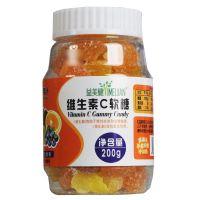 ,益美健维生素C软糖 200克,,有助于维持皮肤和黏膜健康