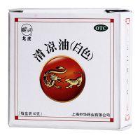 龙虎,清凉油_白色,10g*1瓶/盒,用于感冒头痛、中暑、晕车、蚊虫叮咬