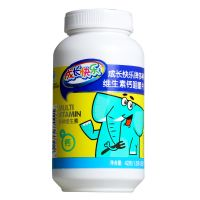 ,成长快乐 多种维生素钙咀嚼片(赠品),1.5克*28片,补充多种维生素钙