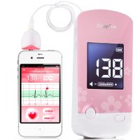 贝缤纷,超声多普勒胎儿心率仪,,用于记录胎动,录制胎儿心音