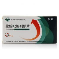 朵英,盐酸吡格列酮片 ,15mg*9片/盒,