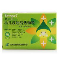 同贝,小儿豉翘清热颗粒,2g*6袋 ,用于小儿风热感冒挟滞证,症见发热咳嗽,鼻塞流涕,咽红肿痛