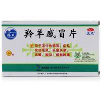 德众,羚羊感冒片, 0.36g*24片/盒 ,用于流行性感冒,症见发热恶风,头痛头晕等
