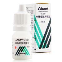 ,布林佐胺滴眼液,5ml:50mg(1%),适用于高眼压症;开角型青光眼;