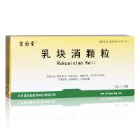 亚东瑞晴,乳块消颗粒,10g*10袋,用于肝气郁结,气滞血淤,乳腺增生,乳房胀痛