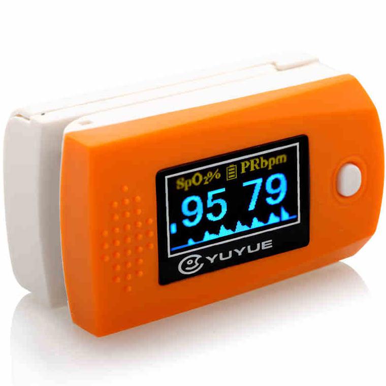 ,指夹式脉搏血氧仪YX300,,用于测量脉率和血液中的血氧饱和度