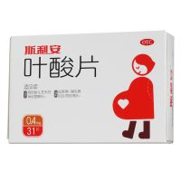 ,斯利安叶酸片,0.4mg,【药师建议连服三个月】适用于预防胎儿唇腭裂,先心病,其他体表畸形等